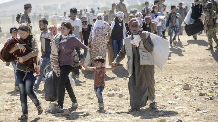 UN assisting Turkey as thousands flee Syria