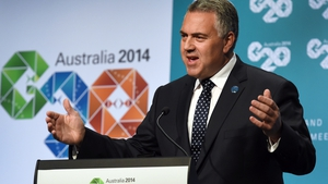 Australian Treasurer Joe Hockey hosted the meeting of the G20 group in Cairns over the weekend