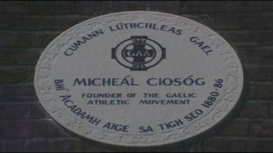 Plaque Honouring Michael Cusack Unveiled