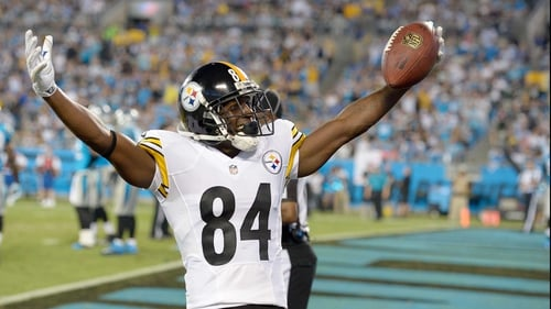 Antonio Brown became a  seven-time Pro Bowler during his career with the Pittsburgh Steelers