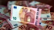 Euro zone consumer prices were down 0.1% in March