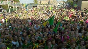 Kerry fans in Rathmore hail their heroes