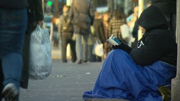 The charity says it is a matter of time before children and their parents are sleeping on the streets