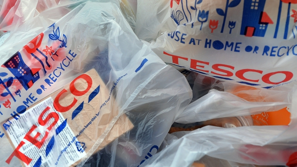 Kantar Worldpanel figures show Tesco's Irish sales were up 0.3% in the 12 weeks to September 13