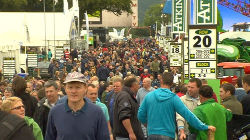 The opening day of the event drew record crowds