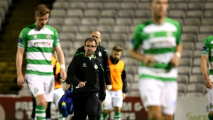Pat Fenlon said Shamrock Rovers had two chances to qualify for Europe