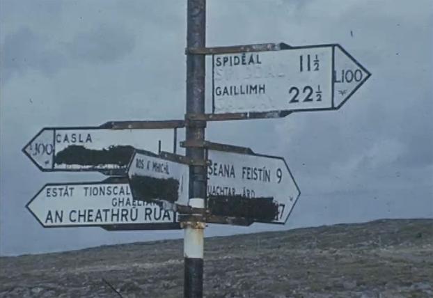 Cois Fharraige, Connemara, Signposts