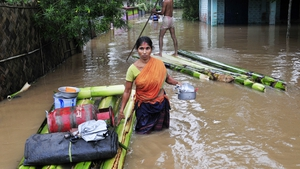 It is the second flood tragedy to strike India this month