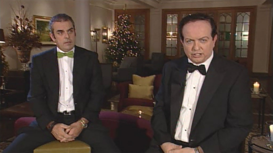 Paul McGinley and Marty Morrissey