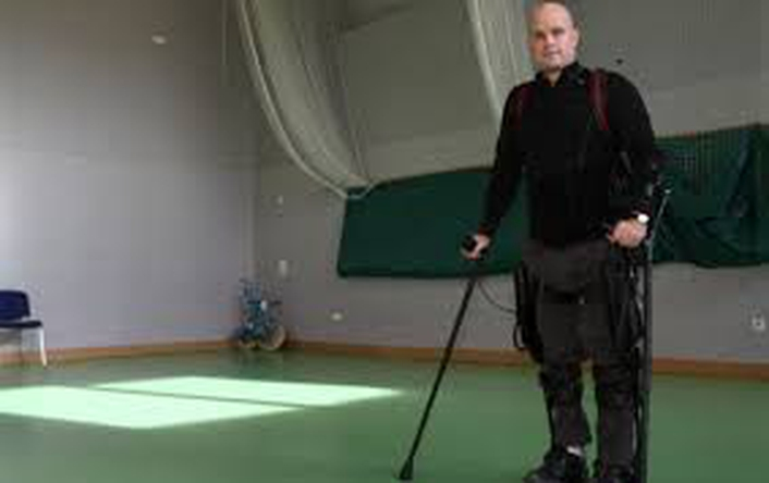 Mark Pollock - bionic suit