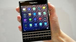Blackberry said today it expects to be profitable on an adjusted basis for the second year in a row