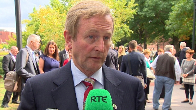 Enda Kenny rejected comments about gender balance in relation to his decision
