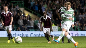 Kris Commons joined Celtic four years ago from Derby