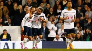 Roberto Soldado notched a rare goal for Tottenham