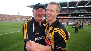 Brian Cody and Henry Shefflin celebrate Kilkenny's 2012 All-Ireland final replay win over Galway