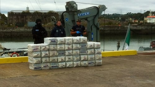 The three men were arrested on suspicion of conspiring to import cocaine into the United Kingdom