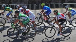 Ireland's Ryan Mullen in action in the U-23 men's road race