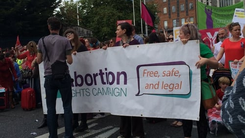 The ARC received the money to help it garner support for a repeal of the Constitution's restrictions on abortion
