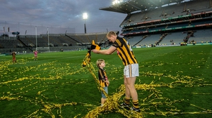 The Cat with 10 medals - Henry Shefflin celebrates after the game
