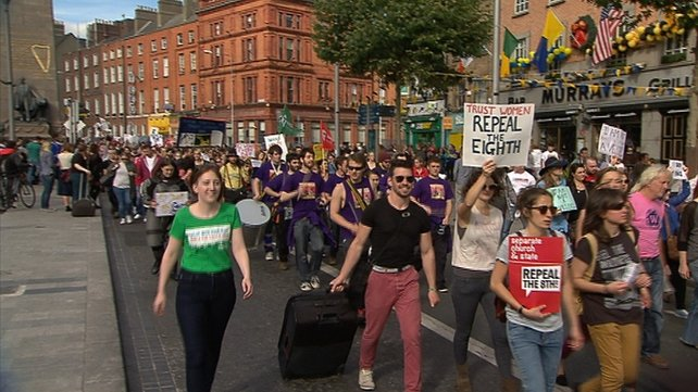 The Abortion Rights Campaign are calling on the Govt to change Ireland's laws on abortion