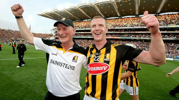 Henry Shefflin and Brian Cody after this year's All-Ireland Hurling final victory