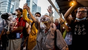 Edwin Lee, freelance film-maker, describes the scene at pro-democracy protests in Hong Kong