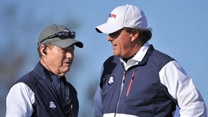 Tensions between Phil Mickelson and Tom Watson appear to have come to the surface