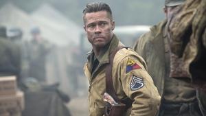 Pitt as Don 'Wardaddy' Collier in Fury
