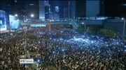 One News: Hong Kong: China will not by swayed by mass protests