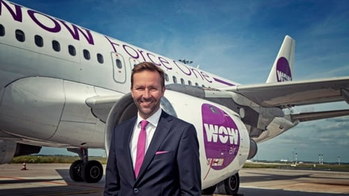 Wow Air was founded by Icelandic entrepreneur Skúli Mogensen