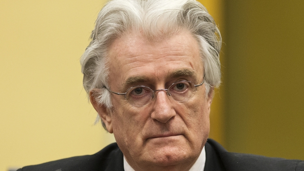 Radovan Karadzic faces charges of genocide for the killing of more than 8,000 Muslim men and boys from Srebrenica