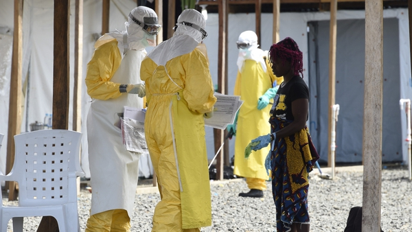 Healthcare workers have been particularly affected by the Ebola outbreak