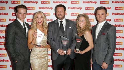 EastEnders' Carter clan won the award for Best Family