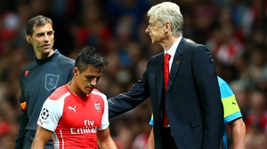 Arsene Wenger did not bring in form striker Alexis Sanchez to Turkey for Galatasaray clash