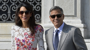 George and Amal: The wedding day in Venice three months ago