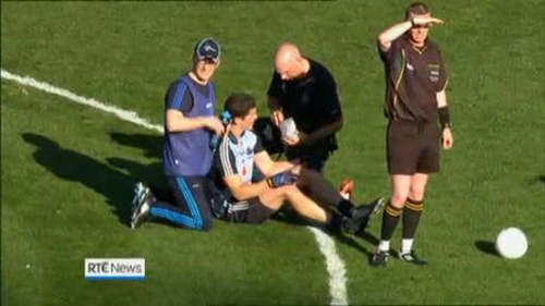 Dublin's Rory O'Carroll was concussed during the 2013 All-Ireland final