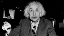 Albert Einstein is among past fellows of the society