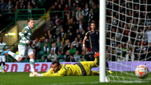 Kris Commons sixth-minute goal proved enough to be Croatian side Dinamo Zagreb