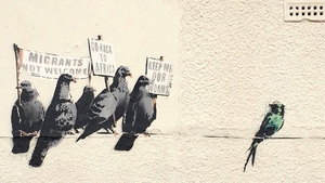 The artwork could have been worth hundreds of thousands of pounds (pic: http://banksy.co.uk/)