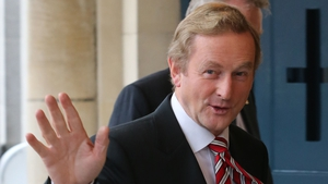 Enda Kenny discussed the political situation in Northern Ireland with Peter Robinson and Martin McGuinness