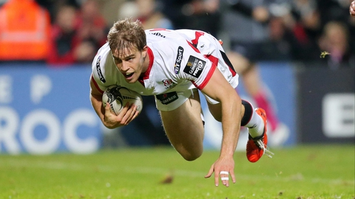 Andrew Trimble will be with Ulster until 2017