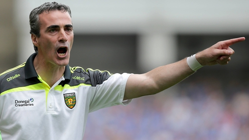 Jim McGuinness has stepped down as Donegal manager
