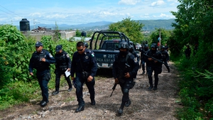 Authorities have found several clandestine graves outside the city of Iguala