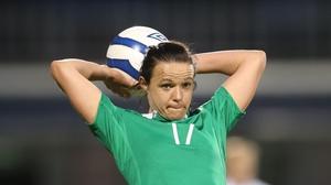 Ireland international Aine O'Gorman scored twice for UCD Waves