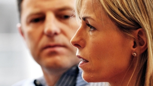 Kate and Gerry McCann said they have taken heart from the
