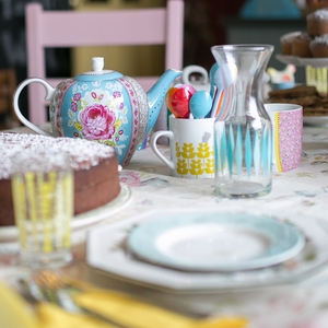 Water jug - €14.95 - www.avoca.ie Pink patterned mug - €14.95 - www.avoca.ie Yellow glass - €5.95  - www.avoca.ie