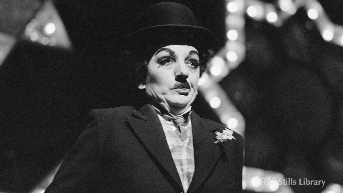 Actor Disguised as Charlie Chaplin. But who is he or she?