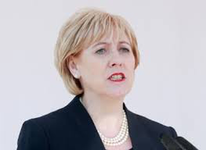 Minister Heather Humphreys addresses the Seanad