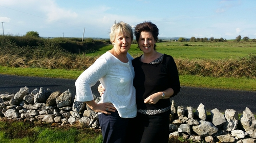 Breast Cancer Survivor Mary, with Valerie Murphy of Valerie's Breast Care - Askeaton, Limerick
