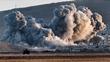 Air strikes intensify in Kobane, Syria